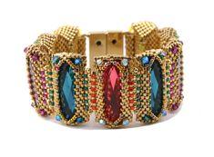 Beaded Jewelry Patterns, Beading Patterns, Beading Tutorials, Diy Jewelry, Jewelry Making, Jewelry Ideas, Necklace Ideas, Simple Jewelry, Gemstone Jewelry