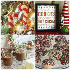 The Ultimate Holiday Party: Cookie Exchange   Hot Chocolate Bar