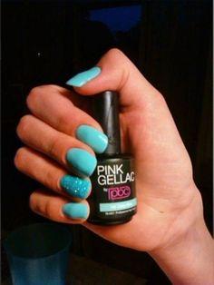 Pink Beauty Club shared Rochella de Wit's photo.  Nmr. 145 Gipsy blue.