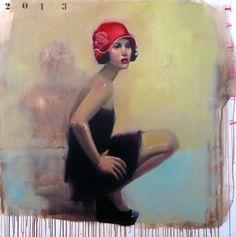 "Saatchi Online Artist TAURUA Pascale; Painting, ""SOLD"" #art"