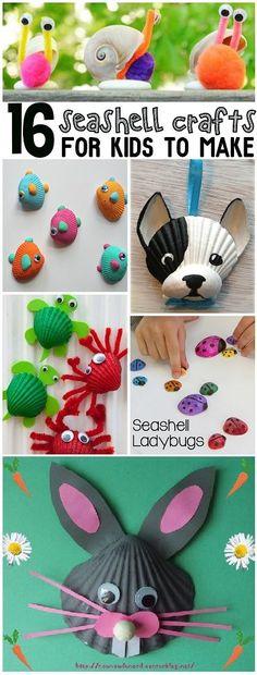 Seashell Craft Ideas More