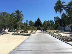 Mana island. The place we said I do