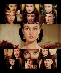 One of my deepest wishes is to have eyebrows half as expressive as Vivien Leigh.