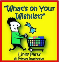 Primary Inspiration: Hey! What's That in Your Shopping Cart? Linky Time!