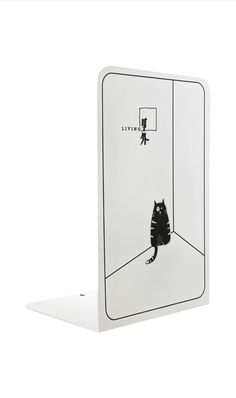 Fun bookends for the office,  study,  kitchen,  kids rooms with a cat theme