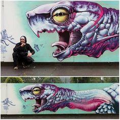 Artwork (mural) by MALIK