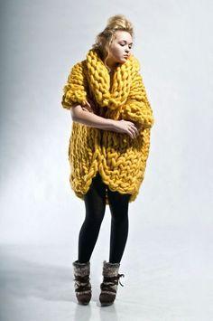 Giant Yellow Sweater