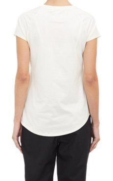 Asymmetric Wrap-Front T-shirt