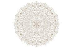 3 Radial detailed mandalas. by Sunshine Art Shop on @creativemarket