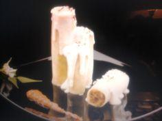 Velas blanca navidad (canelones). Ver la receta http://www.mis-recetas.org/recetas/show/24243-velas-blanca-navidad-canelones
