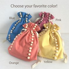 Baby Bedroom Furniture, Kids Dress Patterns, Cute Tote Bags, Drawstring Pouch, Beaded Bags, Little Bag, Kids Bags, Cloth Bags, Small Bags