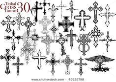 Tattoos Drawings Crosses On Tattoo Designs Cool Cross