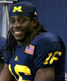 Denard  I met him at the local Ann Arbor mall! It was the best Thanksgiving ever
