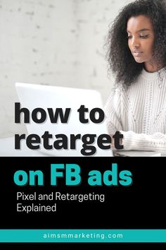 How to use FB Pixel and retarget your audience on Facebook ads campaigns. Facebook advertising tips for businesses. Visit for all Facebook advertising words explained. AIM is an expert Marketing… Facebook Paid Ads, Facebook Advertising Tips, Advertising Words, Facebook Marketing Strategy, Advertising Strategies, Email Marketing Design, Email Marketing Campaign, Social Media Marketing, Digital Marketing