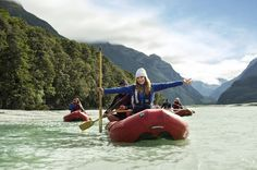 New Zealand Appoints Bryce Dallas Howard as Its Newest Tourism Ambassador  American actress Bryce Dallas Howard takes a kayak trip down the Dart River in the Mt. Aspiring National Park in New Zealand. Howard is on a campaign to promote the South Pacific nation as a tourist destination to Americans and Canadians. Tourism New Zealand / Associated Press Photo  Skift Take: Just who makes the cut as a tourism ambassador for different destinations is a baffling science but if Howard can relate…