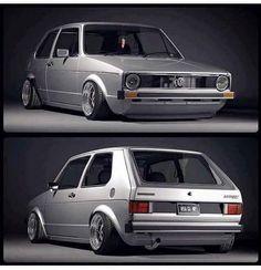 ¿Love it or hate it? Audi, Porsche, Scirocco Volkswagen, Volkswagen Golf Mk1, Golf 1, Vw Mk1 Rabbit, Supercars, Jetta Mk1, Mk1 Caddy
