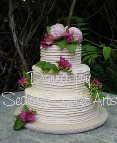 Simply Smooth Buttercream & Tuscan Wedding Cakes - Wedding Cake Ideas 101 - Zimbio