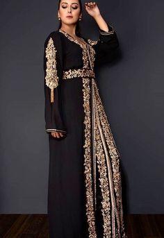 Luxe - The Business of Fashion Kaftan Moroccan, Morrocan Dress, Morrocan Fashion, Modest Fashion, Fashion Dresses, Arabic Dress, Pakistani Wedding Outfits, Arab Fashion, Caftan Dress