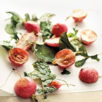 Roasted Radishes and Greens by Whole Living Magazine