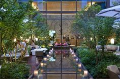 Mandarin Oriental Hotel by Wilmotte and Sybille de Margerie, Paris hotel hotels and restaurants