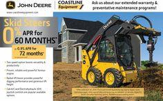 Coastline Equipment (@CoastlineEquip) | Twitter John Deere Equipment, Heavy Equipment, Heavy Machinery, Sale Promotion, Tractors, Engineering, Construction, Twitter, Business