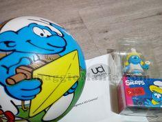Kit dei Puffi con chiavetta USB e pallone - http://www.omaggiomania.com/premi-ricevuti/kit-i-puffi-chiavetta-usb-pallone/