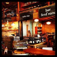 Bar Ferd'nand; wine bar