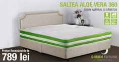 Saltea Aloe Vera de la Green Future
