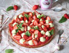 Tarte fraise-menthe façon Fantastik : la recette facile