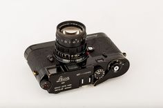 Leica MP Black Paint with Summicron-M 2/50mm