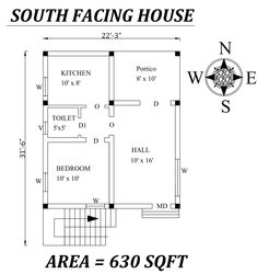 Autocad Drawing file shows Little House Plans, 2bhk House Plan, Model House Plan, Duplex House Plans, House Layout Plans, Family House Plans, Bedroom House Plans, House Layouts, Drawing House Plans