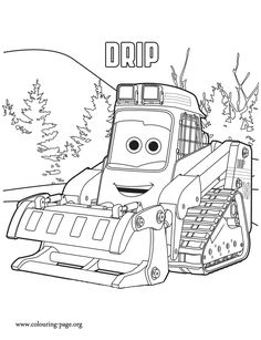 drip is a vehicle who is always leaking oil have fun with this amazing planes fire and rescue coloring page