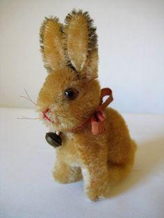 Steiff Vintage Sonny Rabbit - 1950 to 1974 - Springtime Sweetheart Ear Tag, Jumping For Joy, Antique Toys, Old Toys, Etsy App, Handmade Toys, Easter Bunny, Spring Time, Rabbit