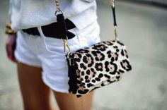 Toque de animal print