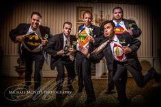 Wedding Photography – Super Hero Groomsmen | Love Your Event