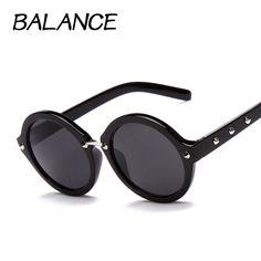 $4.25 (Buy here: https://alitems.com/g/1e8d114494ebda23ff8b16525dc3e8/?i=5&ulp=https%3A%2F%2Fwww.aliexpress.com%2Fitem%2F2015-New-Women-Sunglasses-Fashion-Rivet-Men-Sun-Glasses-Round-Sunglass-Brand-Designer-gafas-Oculos-de%2F32322035939.html ) Sunglasses for Womens Points Fashion Rivet style Brand Designer Glasses Round eyewear 6 colour Oculos de sol feminino S15036 for just $4.25