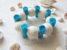 felt_ring,feltjewelry,валяное украшение, войлочное украшение, украшение из шерсти, Felted Bracelet, Felted jewelry,children's bracelet made of wool,children's bracelet