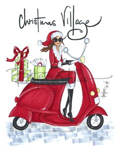 As we are en route to set up for Nashville's Christmas Village , it's finally time to debut the CV girl for this year. Christmas Clipart, Noel Christmas, Christmas Fashion, Christmas Images, Winter Christmas, Vintage Christmas, Christmas Quotes, Xmas, Christmas Drawing