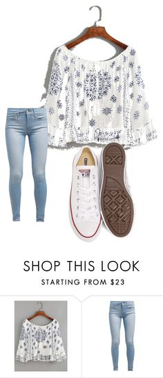 """Untitled #3"" by mckenna1 ❤ liked on Polyvore featuring beauty, WithChic, Levi's and Converse"