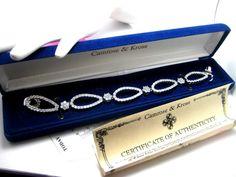 Camrose Kross Jackie Kennedy Monte Carlo Bracelet Original Box CoA Retired #CamroseKross #Statement