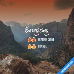 Energising - Essential Oil Diffuser Blend