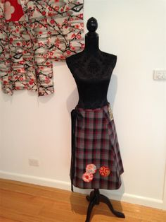 A-line Wrap Skirt free size