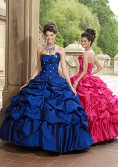 Talk about a ball gown!