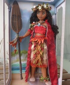 Doll News - pupuceplus: my first pictures of LE Moana second. Disney Barbie Dolls, Disney Princess Dolls, Princess Toys, Disney Princesses, Moana Disney, Princess Collection, Disney Descendants, Disney Love, Disney Stuff