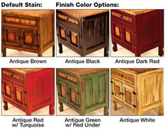 rustic stained pine cabinets | Copper Collection - Farmhouse Sink Vanity & Cabinet - CAB-10CU