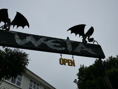 Weta Cave and Weta Workshop in Wellington, New Zealand. The creative team behind many films including Lord of the Rings and Avatar