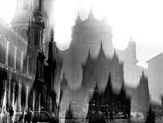 Loreto, by Mario Giacomelli Photo Black, Black White Photos, Black And White, Mario, A Moment In Time, Dark Places, Best Photographers, Photomontage, Vintage Black