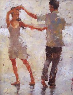 Andre Kohn Russian born Figurative Impressionist Painter Ladies and hats Tutt'Art@ () Figure Painting, Painting & Drawing, Figure Drawing, Dance Paintings, Art Moderne, Dancing In The Rain, Beautiful Paintings, Figurative Art, Art World