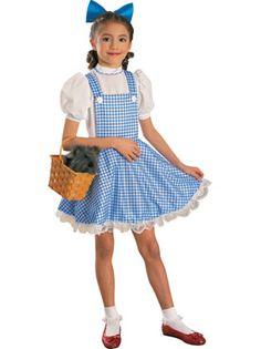 Girls Wizard of Oz Dorothy Costume Deluxe - Party City for Mia Halloween Kostüm, Halloween Costumes For Kids, Wizard Of Oz Dorothy Costume, World Book Day Ideas, Childrens Fancy Dress, World Book Day Costumes, Preteen Fashion, Girl Costumes, Costume Ideas
