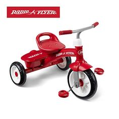 Check Radio Flyer Red Rider Trike at Best 15 Tricycles for Boys of 1 Year Old and Above from Ride on Toys for Babies, Toddlers and Kids - Best Kids Ride on Toys Kids Ride On, Kids Bike, Radios, Top Christmas Toys, Christmas 2019, Christmas Ideas, Adult Tricycle, Push Bikes, Radio Flyer